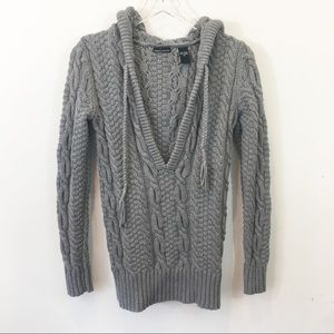 MODA International | Chunky Cable Knit Sweater